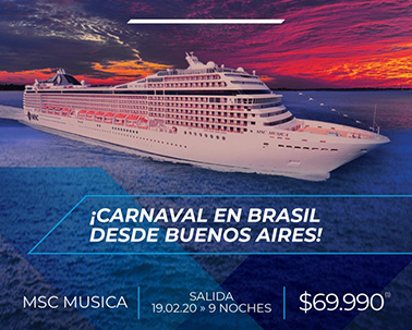 Carnaval con MSC